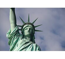 Lady Liberty.. Photographic Print