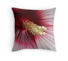 Red With Love Throw Pillow