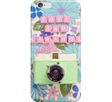 Love and Snapshots  iPhone Case/Skin