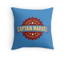 higher - further - faster - more Throw Pillow