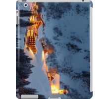 Skiing Resort iPad Case/Skin