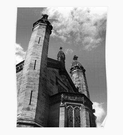 Alton Towers Castle Poster