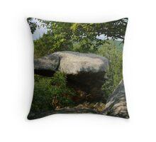 Anvil Rock at Garden of the Gods Throw Pillow