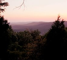 Sunset in Shawnee National Forest by shotzbyjay