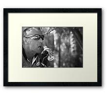Cooling Down Framed Print