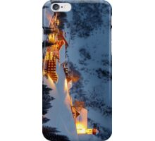 Skiing Resort iPhone Case/Skin