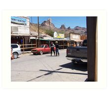 Gunfighters..Oatman USA Art Print