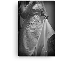 Second Guessing the Gown Canvas Print