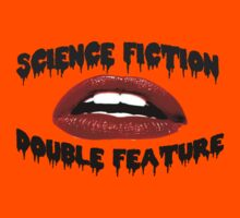 Science Fiction Double Feature Kids Tee