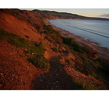 colours of evening, Sellick's Beach Photographic Print