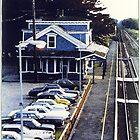 Kingston RR Station 1984 by Jack McCabe