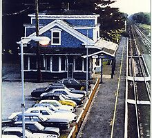 Kingston RR Station 1984 by Jack McCabe