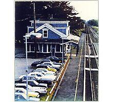 Kingston RR Station 1984 Photographic Print