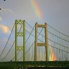 RAINBOW OVER THE NARROWS BRIDGE by MsLiz
