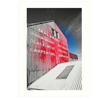 maritimer's façade Art Print