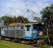 Locomotive in Costa Rica by Guy Tschiderer