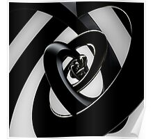 Intersection of 3-D Spirals Poster