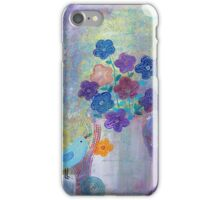 A Bird and a Flower Vase  iPhone Case/Skin