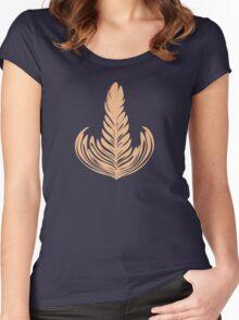 Creamy Rosetta Women's Fitted Scoop T-Shirt