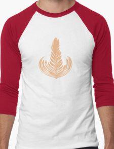 Creamy Rosetta Men's Baseball ¾ T-Shirt