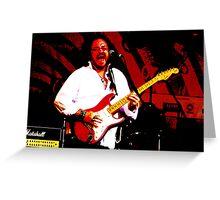 Guitarist 2 Greeting Card
