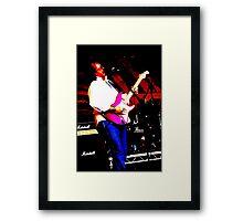 Guitarist 3 Framed Print