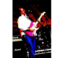 Guitarist 3 Photographic Print