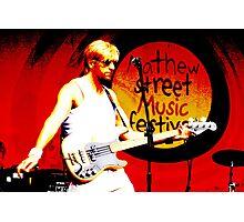 Guitarist 4 Photographic Print