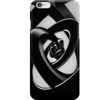 Intersection of 3-D Spirals iPhone Case/Skin