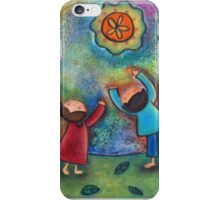 Children and the Moon  iPhone Case/Skin