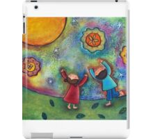 Children and the Moon  iPad Case/Skin