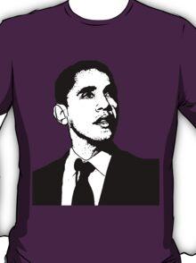 Barack Obama Black and White Suit T-Shirt