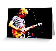 Guitarist 5 Greeting Card