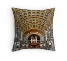 Painted Gallery Throw Pillow