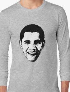 Barack Obama Black and White  Long Sleeve T-Shirt