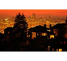 Night Lights Photographic Print