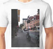 Bike on The Corner  Unisex T-Shirt