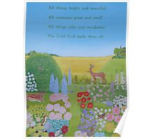 All things bright and beautiful . . . Poster