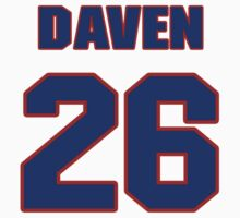 National football player Daven Holly jersey 26 by imsport