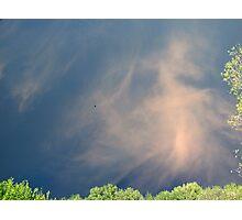 Cloud Cross Photographic Print