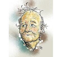 Bill Murray Portrait Photographic Print