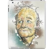 Bill Murray Portrait iPad Case/Skin