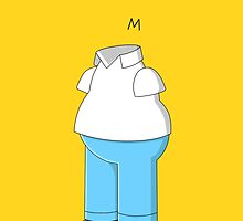 """Homer Simpson, """"Whatcha Wearing"""" by SpectreSpark"""
