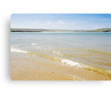 Daymer Bay in May Canvas Print