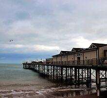 Teignmouth Pier. Devon UK by lynn carter