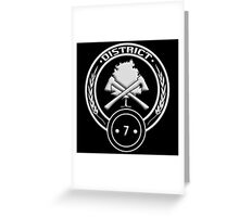 District 7 - Lumber Greeting Card