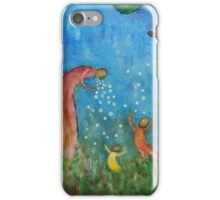 Playing Bubbles iPhone Case/Skin