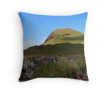 Heading for Meall a' Bhuiridh,Black Mount,Rannoch Moor. Throw Pillow