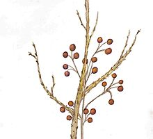 Advent tree by Theresa Hartman