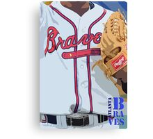 Atlanta Braves 1 Canvas Print